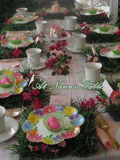 Spring Birthday Tea Parties