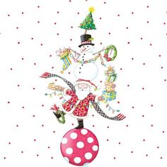 Christmas Circus by Mary Engelbreit Mary Christmas, Christmas Time Is Here, Merry Little Christmas, Christmas Pictures, Christmas And New Year, Christmas Holidays, Christmas Crafts, Xmas, Mary Engelbreit