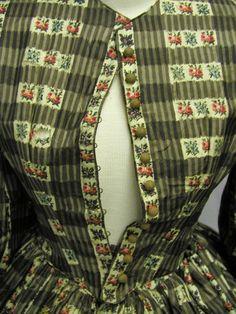 1850's Print Dress