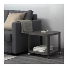 TINGBY Side table on casters - gray - IKEA