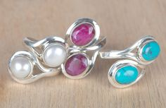 #‎Wholesale‬ ‪#‎Retail‬ ‪#‎Beautifully‬ ‪#‎Handmade‬ #Pearl, #Red #Ruby, #Turquoise ‪#Rings‬ for Women,by Brillante Jewelry Made from 92.5 sterling Silver #Pearl, #Red #Ruby, #Turquoise Gemstone #Rings. And by using Natural Gemtones..Pick this #Rings to add new definition to your Personality.About the Brand-Associated with Glamour,style and class,Brillante–Jewelry fashion jewelry appeals to,women across all age-groups.