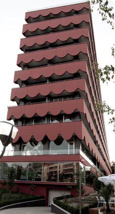 Ardia Palace, Tirana, Valerio Olgiati - Tirana's facades