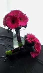 Image result for gerbera pink daisy long stemmed bouquet