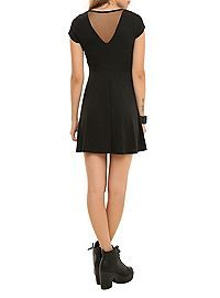 HOTTOPIC.COM - Teenage Runaway Rib Cage Caviar Dress