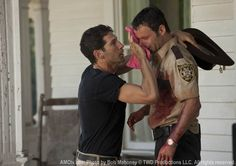 """The Walking Dead recap. A recap of The Walking Dead episode """"Bloodletting"""" starring Andrew Lincoln, Jon Bernthal, and Sarah Wayne Callies Walking Dead Funny, Walking Dead Season, The Walking Dead Shane, Walking Dead Cast, Andy Lincoln, Dead Zombie, My Sun And Stars, Stuff And Thangs, Daryl Dixon"""