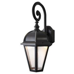 """Kiss Series 19"""" x 10"""" LED Outdoor Wall Lantern Finish: Old World by Melissa Lighting. $167.99. K245016 LED-OW Finish: Old World Features: -Outdoor wall lantern.-Seedy acrylic shade.-UL listed.-Eco friendly.-Made in USA. Options: -Available in several finishes. Construction: -Cast aluminum construction. Specifications: -Accommodates 6W LED bulbs. Dimensions: -Top to outlet length: 8''.-Back plate dimensions: 7'' H x 4.5'' W.-Overall dimensions: 19'' H x 10'' W ..."""