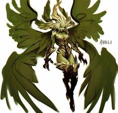 AVALI Garuda (Final Fantasy XIV) - by sorakazami
