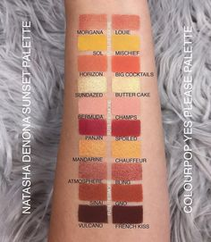 Natasha Denona Sunset Palette vs. Colour Pop Yes Please Palette