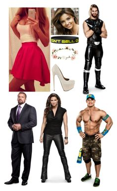 """""""Raw: The Authority kicks of the night"""" by moxley-monieth ❤ liked on Polyvore"""