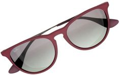 a4a702d3fc126 NEW Authentic Ray-Ban RB4171F-6001 11 ERIKA CLASSIC Matte Rose Rubber  Sunglasses