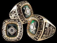 Rings That Bling – 1989 Oakland A's World Series Ring World Series Rings, Mlb World Series, American Games, World Series Winners, Cardinals World Series, Super Bowl Rings, Oakland Athletics, Oakland Raiders, Champs