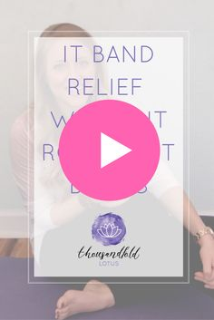 I created this video to relieve the oh-so problematic IT BANDS with all of the latest information! Grab the video and share with all your fitness guru friends! Pilates Body, Pilates Workout, It Band, Bands, Pelvic Floor, Yoga Tips, Teaching Tips, You Fitness, Workout Videos