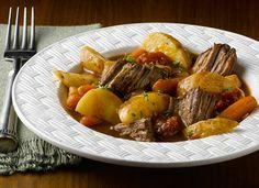 Slow Cooker Swiss Steak Recipe from Simply Potatoes
