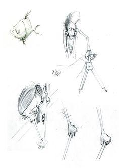 Webster - matita su carta, 2007