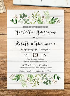 Kraft engagement announcement template diy wedding engagement greenery rustic wedding invitations diy invitation template edit this printable template instantly in user friendly online design tool truly diy stopboris Gallery