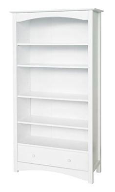 [Toy Storage Ideas] DaVinci MDB Book Case, White *** Details can be found by clicking on the image. (This is an affiliate link) #ToyStorageIdeas