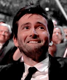 GIF: Aww… David Tennant baffled and chuffed - Geek World David Tennant Gif, David Tennant Doctor Who, Barty Crouch Jr, Michael Sheen, Broadchurch, Doctor Who Quotes, Christopher Eccleston, 10th Doctor, Rory Williams