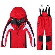 Pas cher Ems extérieure enfants ski costume costume modèles masculins et féminins chaud épais de veste imperméable, Acheter  Ski vestes de qualité directement des fournisseurs de Chine: