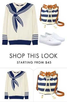 """""""The Sailor"""" by fashionconnery ❤ liked on Polyvore featuring Demylee, Arizona, Vans, women's clothing, women's fashion, women, female, woman, misses and juniors"""