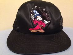 "MICKEY MOUSE SORCERER SATIN SHINY ""FANTASIA"" HAT (Official Disney Fashions)"