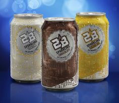 2B Sparkling Drinks: Sparkling Vanilla, Sparkling Chocolate and Sparkling Lemon Ice.