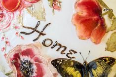 Home Sign, French Country Cottage, Cottage Decor, Wall Decor, Shabby Chic Decor…