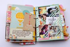 super fun mini album by Suzy Plantamura  @Mandy Waters = thought you might like these ideas for your art journals