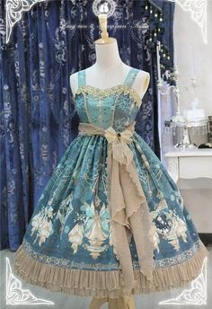 The Kingdom of Fairies~ Lolita JSK Dress Version I$141.99 - My Lolita Dress
