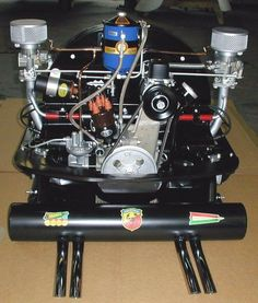 36hp Volkswagen engine with Okrasa upgrades and Abarth Exhaust