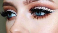7 Trucos que no conocías sobre el delineador - Soy Moda Beauty Makeup, Hair Beauty, Makeup Eyes, Kurti Designs Party Wear, Tips Belleza, Smoky Eye, Eye Make Up, Hair And Nails, Eyebrows