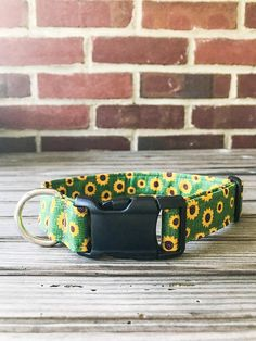 Get your Fall / Autumn Sunflower Dog Collar here! This Furever Gracie Dog Collar is handmade and adjustable with an Autumn Sunflower Print Fabric and thick, quality Interfacing that reinforces the fabric to make this dog collar comfortable, durable and sturdy for you and your dog. Each collar is made with high quality hardware and attention to detail for the safety of your dog. This adorable print is sure to make your dog stand out in the crowd and put a pep in his step! ________________...