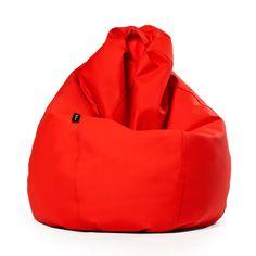 Puf Pera XL Náutico Rojo