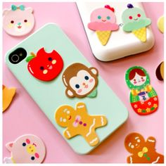 Cellphone Screen Cleaner from Mochithings ♥