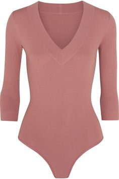 Alaïa - Stretch-knit Bodysuit - Antique rose - FR38