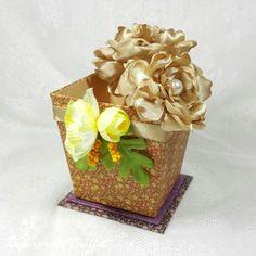 Flower Pot - Graphic 45 - Belly Lau - Papercraft Buffet - Workshop