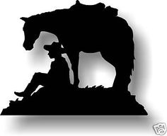 Custom Made Western Horse Art Horse Silhouette, Silhouette Images, Silhouette Design, Silhouette Cameo, Soldier Silhouette, Horse Stencil, Metal Art Projects, Wood Burning Patterns, Cowboy Art