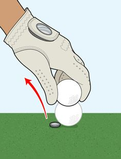 Golf Digest...How to mark your ball. Our Residential Golf Lessons are for beginners, Intermediate & advanced. Our PGA professionals teach all our courses in an incredibly easy way to learn and offer lasting results at Golf School GB www.residentialgolflessons.com