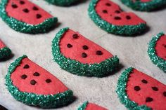 In the mood for a tempting treat? Try these #watermelon #sugar #cookies