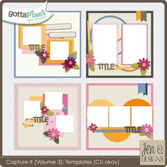 Capture It: Volume 3 (CU okay) by Jen C Designs   $3.99