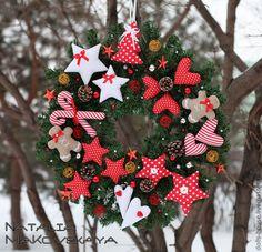.adorable christmas wreath