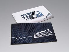 20 Silk Business Cards with Spot Gloss