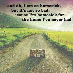 homesick, (nearly) soul asylum lyrics