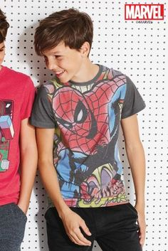 Buy Red Spider-Man™ T-Shirt (3-14yrs) from the Next UK online shop