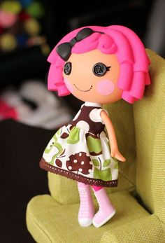 Lalaloopsy Clothes Doll Dress by little noel by LittleNoel on Etsy