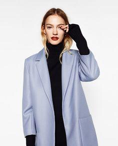Image 2 of MASCULINE COAT from Zara