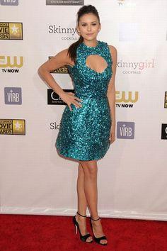 Nina Dobrev @ The Critics' Choice Awards (13)