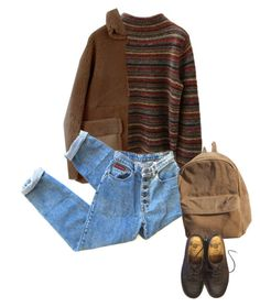 """#717"" by brownloveh ❤ liked on Polyvore featuring Jones New York and Dr. Martens"