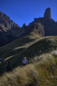 Mafadi is South Africa's highest peak at above sea level and is found in the Central Drakensberg mountains. We do this hike over 4 days. Sea Level, Day Hike, Long Distance, Monument Valley, South Africa, Places To Visit, Hiking, Country Roads, Challenges
