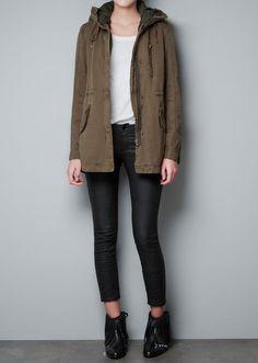 Zara Parka With Detachable, $159