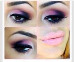 Smokey Eyes For Brown Eyes Girl. Recreate this look using Younique products. Click photo or visit www.youniqueproducts.com/sarahwilliamson